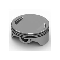 Keith Black Pistons KB915C.STD Standard Flat Top Pistons w/10.5:1 Compression Ratio for CVO Twin Cam 07-Up w/110ci Engine