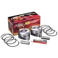 """Keith Black Pistons KB920.010 +.010"""" Dome Top Pistons w/9.5:1 Compression Ratio for Big Twin 84-99"""