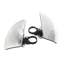 Klock Werks KKC-05-01-0512-C Flare Wings Clear for Indian Scout 15-Up(Exc. Bobber)