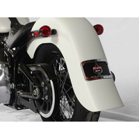 "Klock Werks KKC-1401-0712 Stretched Rear Fender 4"" Extended Frenched for FLSL 18-Up"