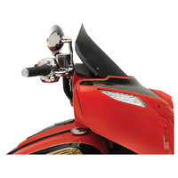 "Klock Werks KKC-2312-0481 14"" Flare Windshield Dark Smoke for Indian 14-Up"