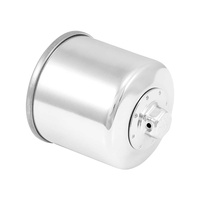 K&N KN-204C Oil Filter Chrome for Street 500/Indians Models