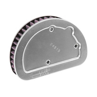 K&N HD-1614 High Flow Air Filter Element Softail'16up & FLH'14up OEM replacement