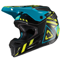 Leatt 2019 GPX 5.5 V19.1 Helmet Black/Lime
