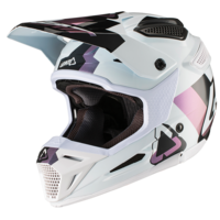 Leatt 2019 GPX 5.5 V19.2 Helmet White/Black