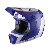 Leatt 2020 GPX 3.5 V20.2 Helmet Royal