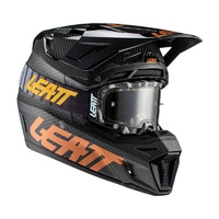 Leatt 2021 Moto 9.5 Helmet & Goggle Kit V21.1 Carbon