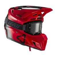 Leatt 2021 Moto 7.5 Helmet & Goggle Kit V21.2 Red