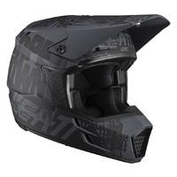 Leatt 2021 Moto 3.5 Helmet V21.1 Ghost