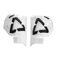 Leatt 2021 Replacement Shin Plates Kit White/Black for Moto 5.5 Boots