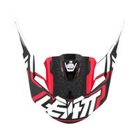 Leatt Replacement Peak Red/Black/White for GPX 5.5 V04 Helmets (MD-2XL)