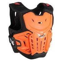 Leatt L5016100500 Junior Chest Protector 4.5 Orange/White