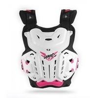 Leatt 4.5 Chest Protector White/Pink Jacki 55-95kg