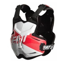 Leatt Rox 2.5 Chest Protector White/Red 50-80kg
