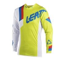 Leatt 2018 GPX 5.5 Ultraweld Jersey Lime/White