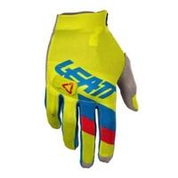 Leatt 2018 GPX 3.5 Lite Gloves Lime/Blue