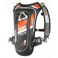 Leatt GPX Race HF 2.0 Hydration Pack Orange/Black [Size:XS-2XL]