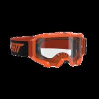 Leatt 4.5 Velocity Goggles Neon Orange Clear 83%