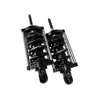 Legend LEG-1310-1973 REVO-A Series Adjustable Rear Shock Absorbers Black for Softail 00-17