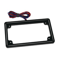 Letric Lighting LLC-PPL-G Perfect Plate Light License Plate Frame Gloss Black