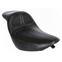 LePera Seats LP-LK-910DL Maverick Daddy Long Legs Dual Seat for Softail 06-17 w/OEM 200 Rear Tyre