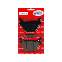 Lyndall Racing LRB-7058-Z Z-Plus Series Rear Brake Pads Fits all Models 1987-99