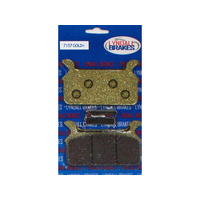 Lyndall Racing LRB-7157-G Gold-Plus Series Rear Brake Pads FLH'86-99 Touring Models Only