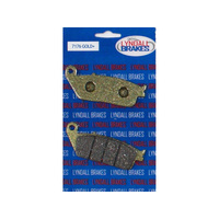 Lyndall Racing LRB-7176-G Gold-Plus Series Rear Brake Pads for Victory Cruiser 08-Up
