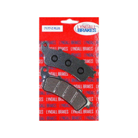 Lyndall Racing LRB-7177-Z Z-Plus Series Front Brake Pads Victory Touring 08-UP Vision Only