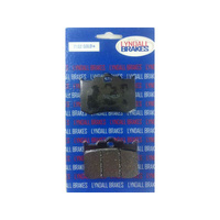 Lyndall Racing LRB-7182-G Gold-Plus Series Brake Pads for Performance Machine 125x4R or 137x4B Calipers/Softail 06-Upw/Performance Machine Integrated