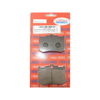 Lyndall Racing LRB-7182-Z Z-Plus Series Rear Brake Pads for Integrated PM Caliper 125X 4R or 137X4B Softail '06-07 & 08UP