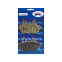 Lyndall Racing LRB-7196-G Gold-Plus Series Rear Brake Pads Softail 06-07 w/200mm Rear Tyre