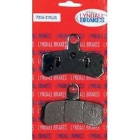 Lyndall Racing LRB-7256-Z Z-Plus Series Front Brake Pads 2008-UP FXST / FXD