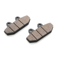 Lyndall Racing LRB-7283-Z Z-Plus Series Rear Brake Pads for Softail 18-Up