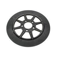 "Lyndall Racing LRB-738-0315 Phoenix 8 11.8"" Front Disc Rotor Black Big Twin'06up"