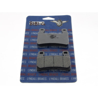 Lyndall Racing Brakes LRB-8181-G Brake Pads for Front on Softail 15-Up/XR1200 08-12