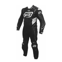 Rjays Stealth III 1-Piece Suit Black/Titanium Grey/White