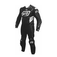 Rjays Stealth III 1-Piece Suit Black/Titanium Grey/White