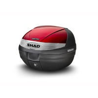 Shad Metalic Red Colour Panel for SH29 Top Cases