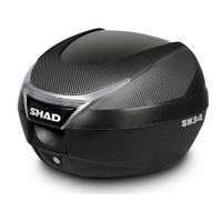 Shad SH34 Top Case Black/Carbon 34L