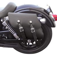"""Leatherworks LW-327L Saddlebag Dyna 06-UP 11"""" X 11"""" X 4.5"""" (Left Side Only)"""