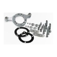 DNA Specialty Air Cleaner Support Mount Bracket Chrome C.V & Mikuni Carb (up to 110ci) Fits Harley Davidson
