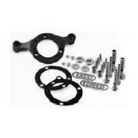 DNA Specialty Air Cleaner Support Mount Bracket Black C.V & Mikuni Carb (up to 110ci) Fits Harley Davidson