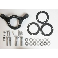 DNA Specialty Air Cleaner Support Mount Bracket Black 08-UP FL & BREAKOUT WITH FUEL INJECTED CARB Fits Harley Davidson