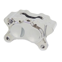 DNA Specialty 4 Piston Caliper Chrome Fits Harley Davidson