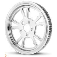 "DNA Specialty C2 Pulley 70t x 1 1/2"" Chrome Softail Dyna & Sportster Models Suits Harley Davidson"