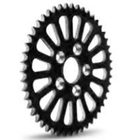DNA Specialty SS2 Sprocket 51t Black Suits Harley Davidson or Custom Use