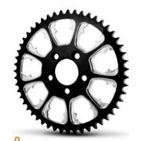 DNA Specialty Greed Sprocket 48t Black Suits Harley Davidson or Custom Use