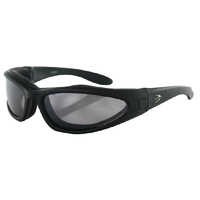 LOW RIDER II CONVERTIBLE BLACK FRAM E3 SETS OF LENSES BOBSTER EYEWEAR