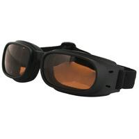 Bobster Piston Goggles Amber Lens 100% UVA / UVB BPIS01A